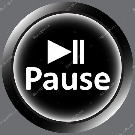 depositphotos 108838392-stock-illustration-icon-black-word-pause-and